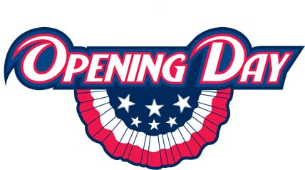 Opening Day Clipart.