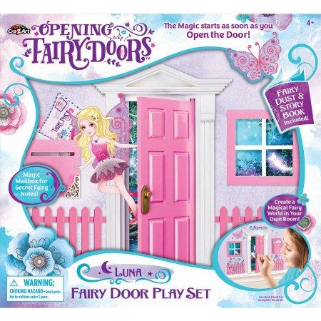 Opening Fairy Door, Pink.