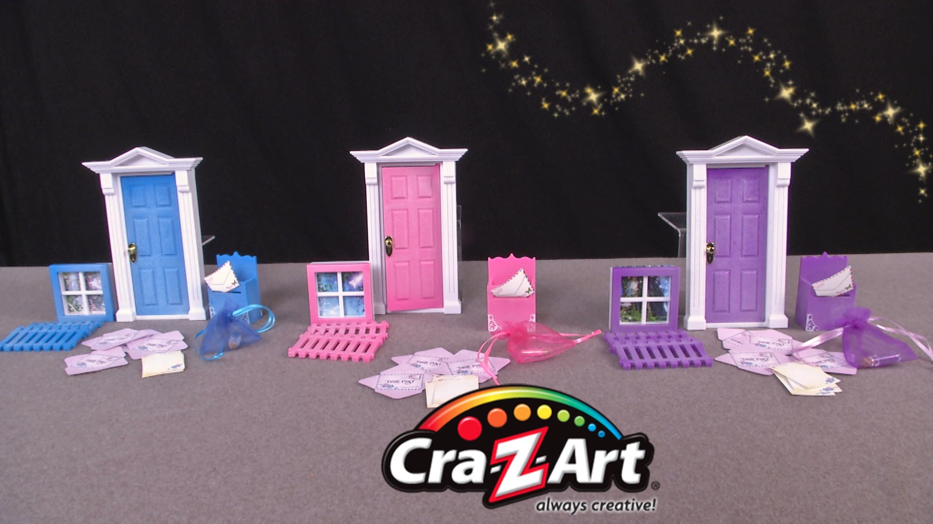 Opening Fairy Doors from Cra.