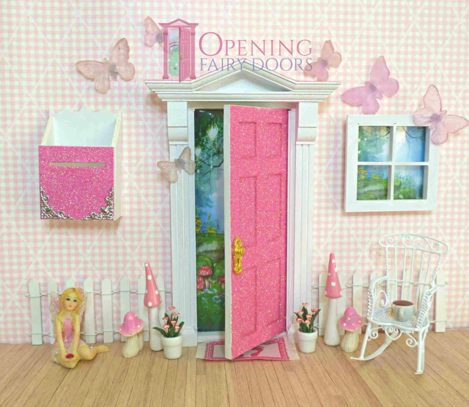 Opening Fairy Doors.