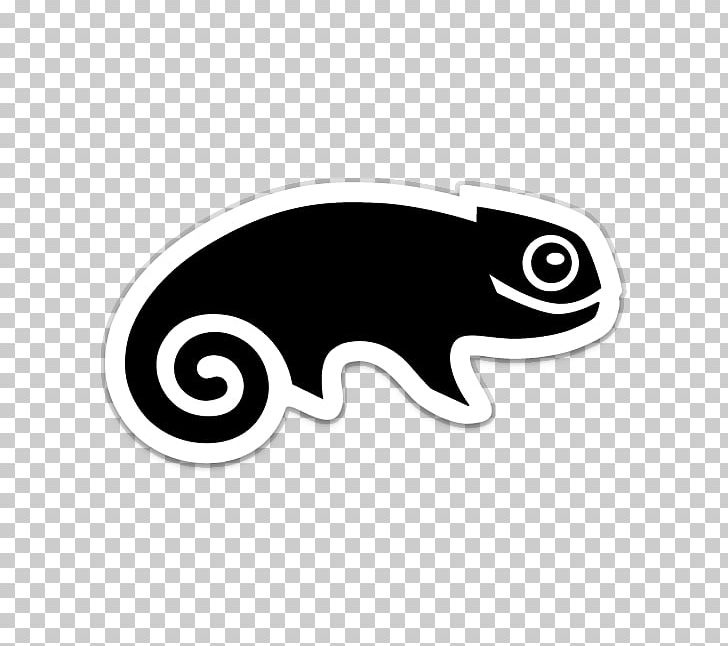 SUSE Linux Distributions OpenSUSE Logo PNG, Clipart, Black.
