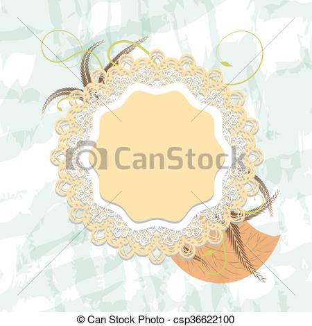 Vector Clipart of openwork.