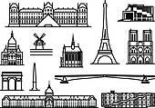 Opera Bastille Clip Art.