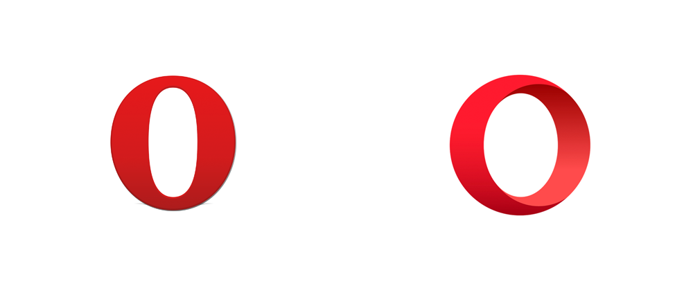 Brand New: New Logo for Opera done In.