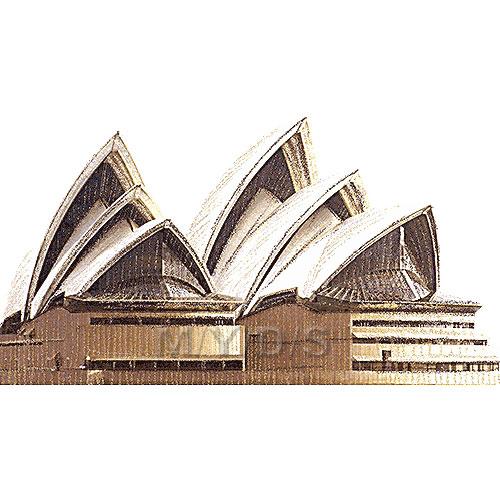 Sydney Opera House clipart / Free clip art.