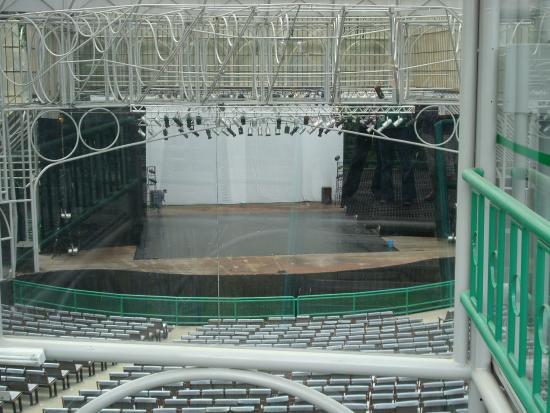 Ópera de Arame: palco.