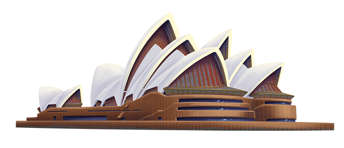 Download Sydney Opera House PNG HD.