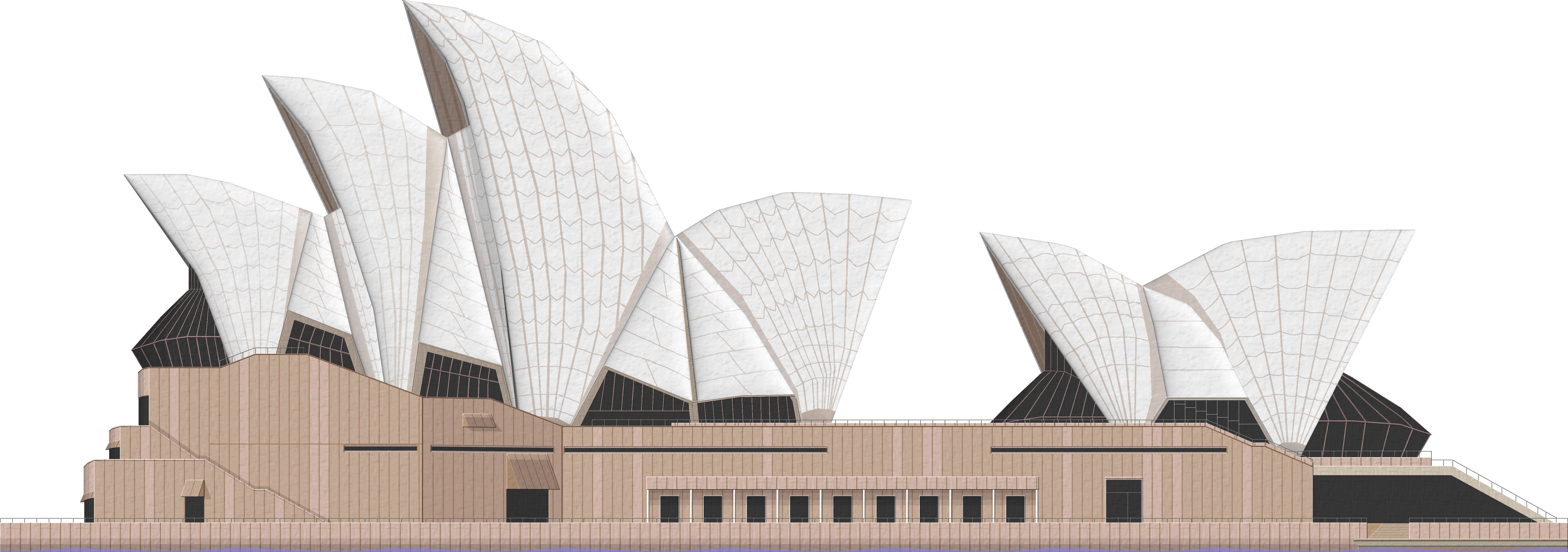 Sydney Opera House PNG File.