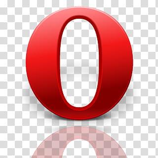 Opera logo transparent background PNG clipart.