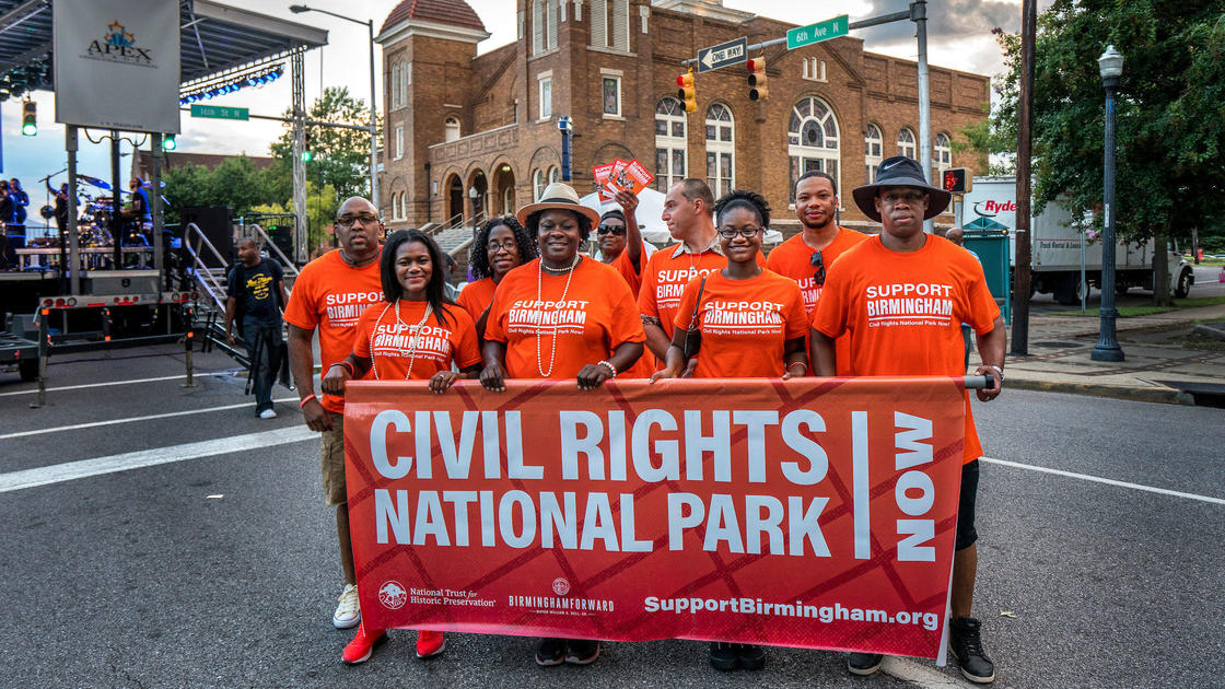 Petition · Help Create a Civil Rights National Park in Birmingham.
