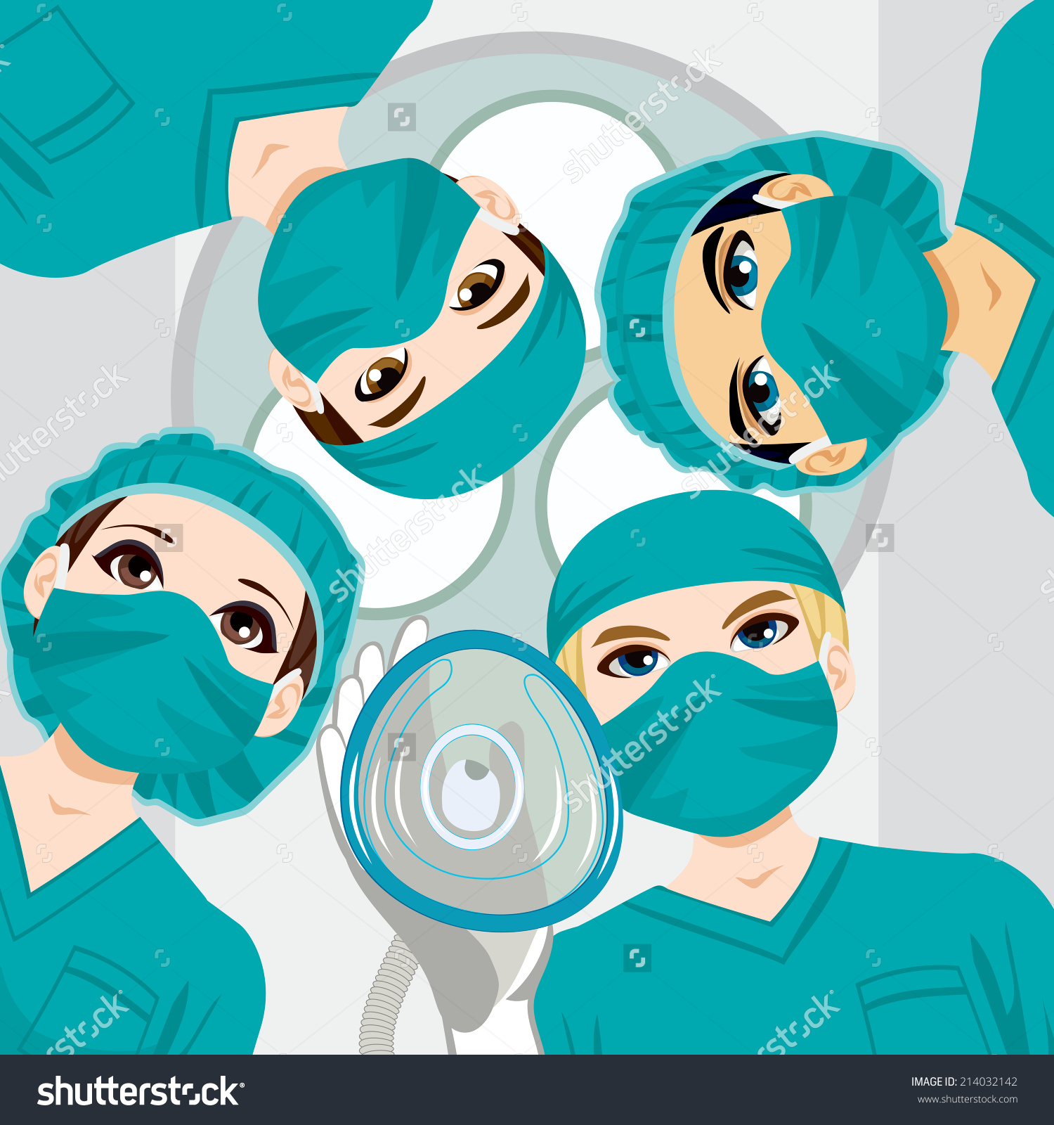 Operating theatre clipart.