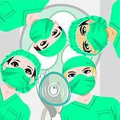 Operating Room Clip Art.