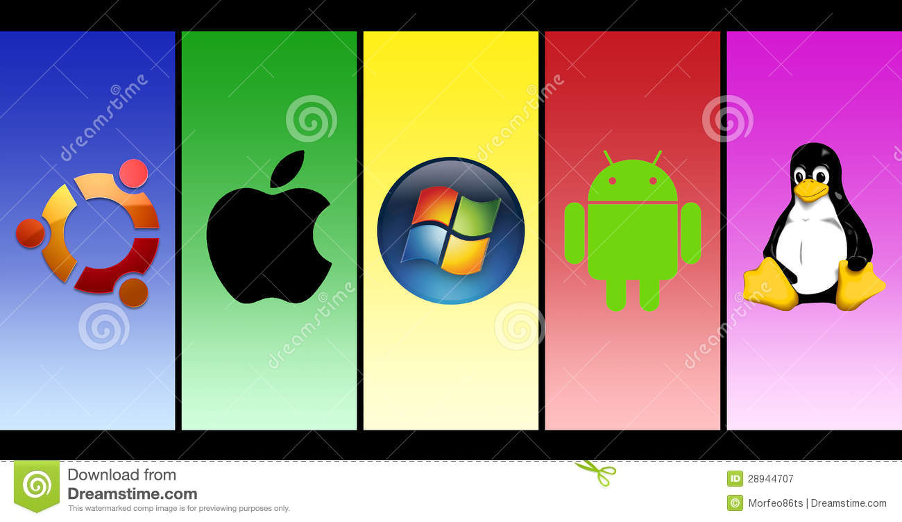 Most Popular Operating Systems Editorial Photography.
