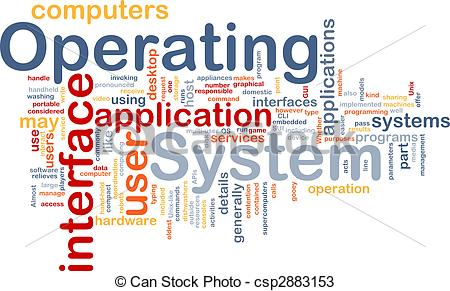 Operating system clipart.