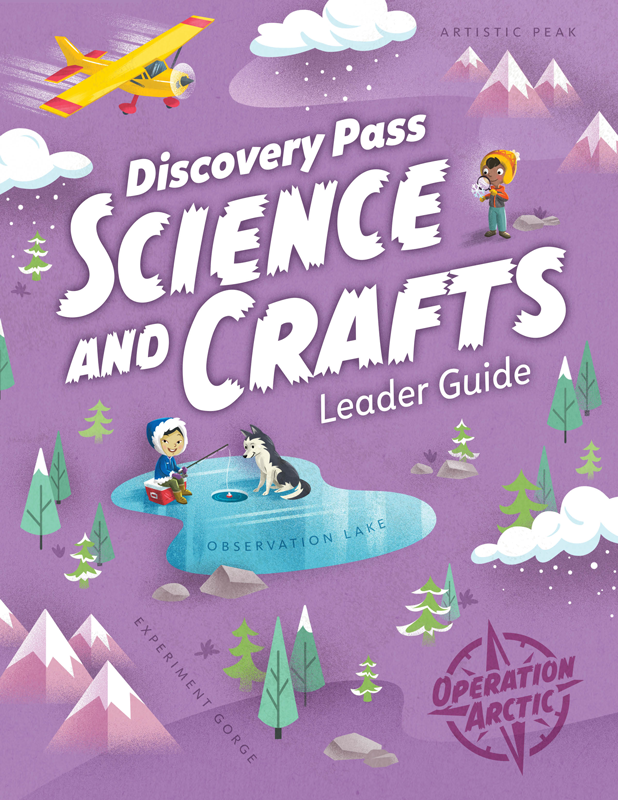 Operation Arctic VBS: Science and Crafts Guide PDF.