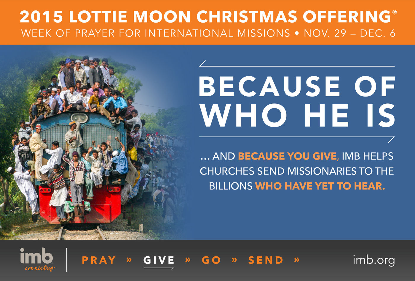 Renewal Church of Anderson > Lottie Moon/Operation Christmas Child.