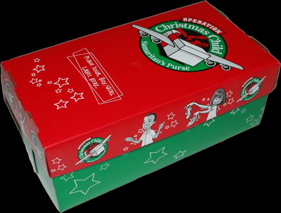 Operation Christmas Child Logo Png.