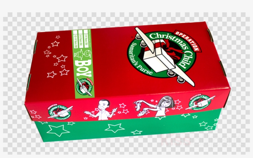 Download Operation Christmas Child Shoebox Png Clipart.