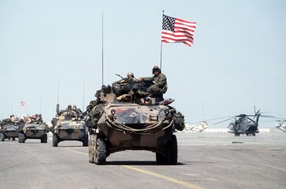 The Gulf War/ Operation Desert Storm.
