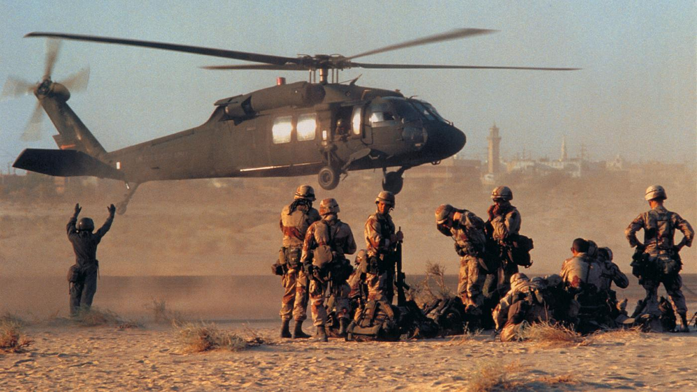What are the results of Operation Desert Storm?.