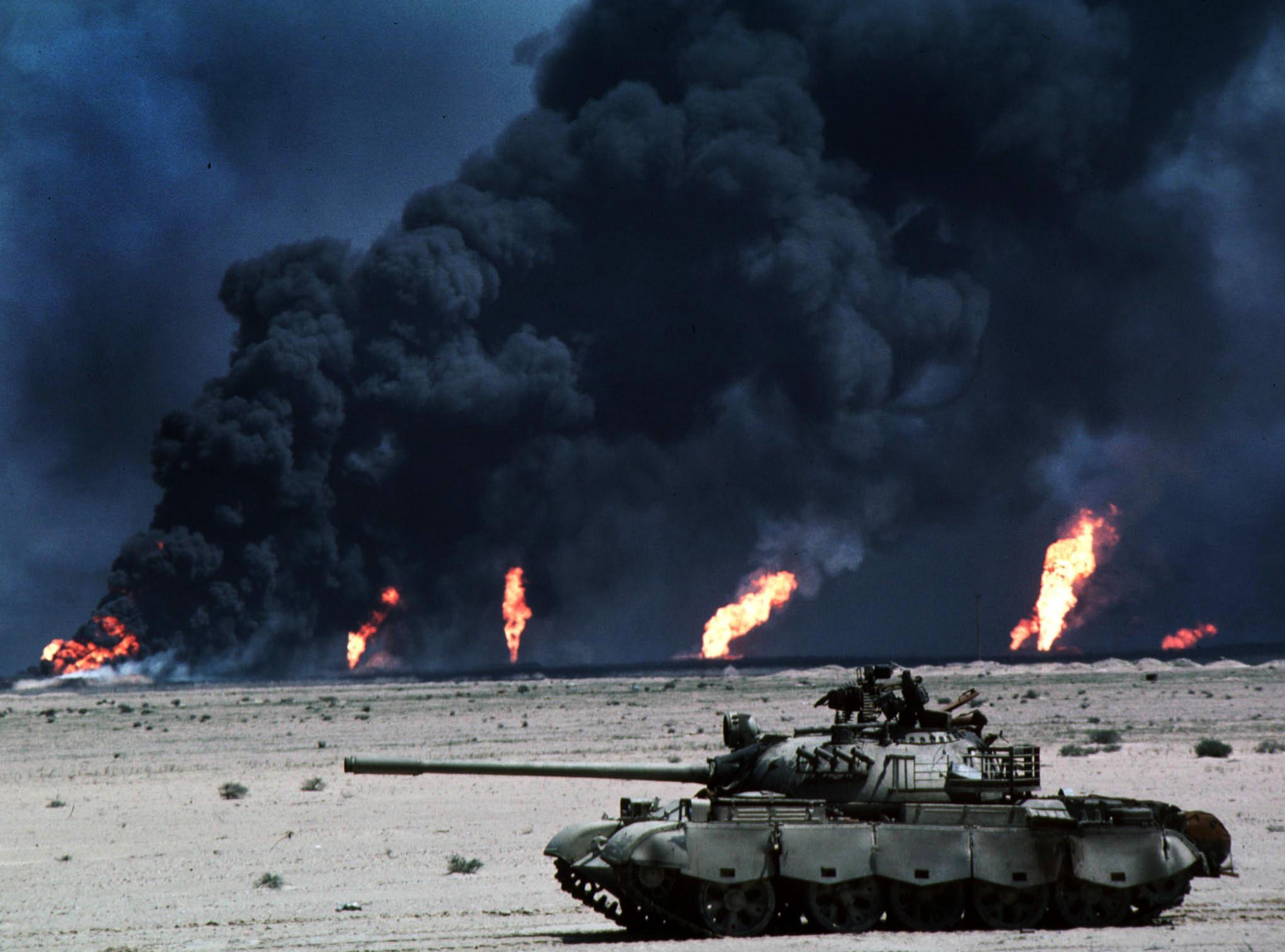 Operation Desert Storm.