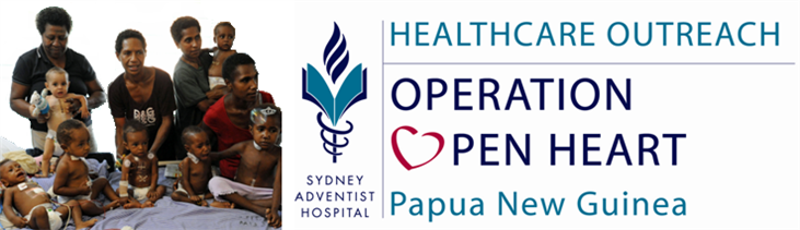 Operation Open Heart PNG 2011.