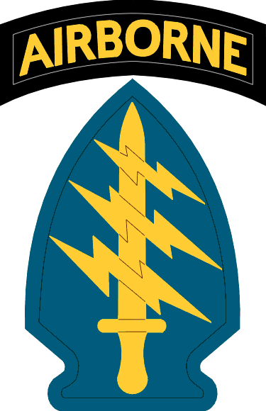 USASOC: US Army Special Operations Command.