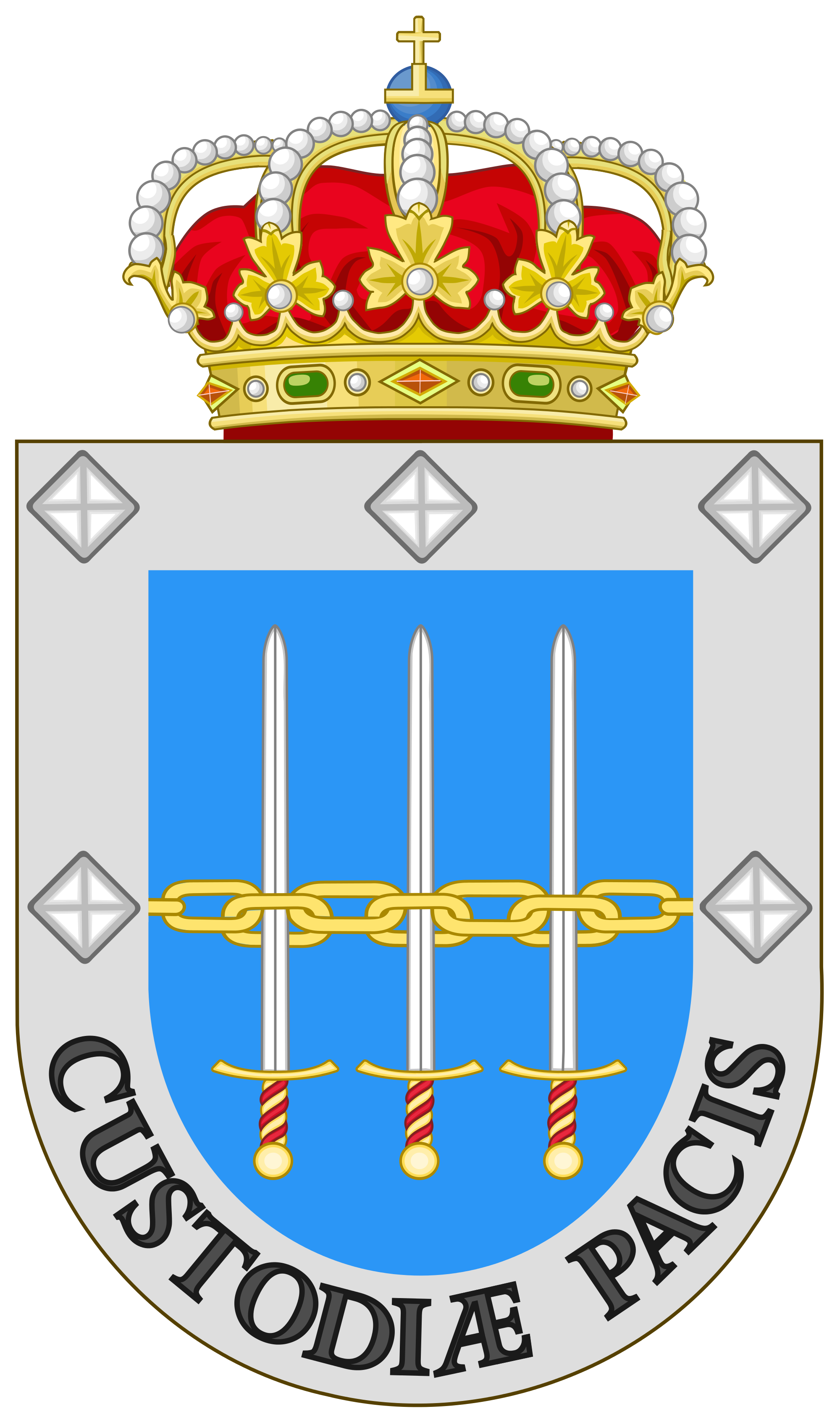 File:Coat of Arms of the Spanish Armed Forces Operations Command.