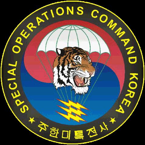 Special Operations Command Korea.