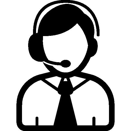 Telephone operator Icons.