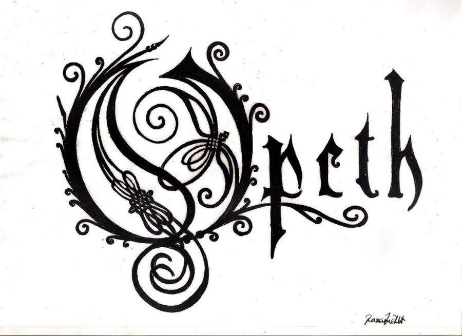 Opeth Logo.