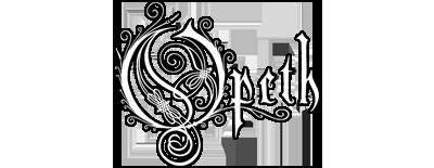 Opeth music logo.