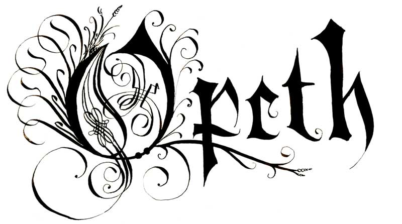 Opeth Logos.