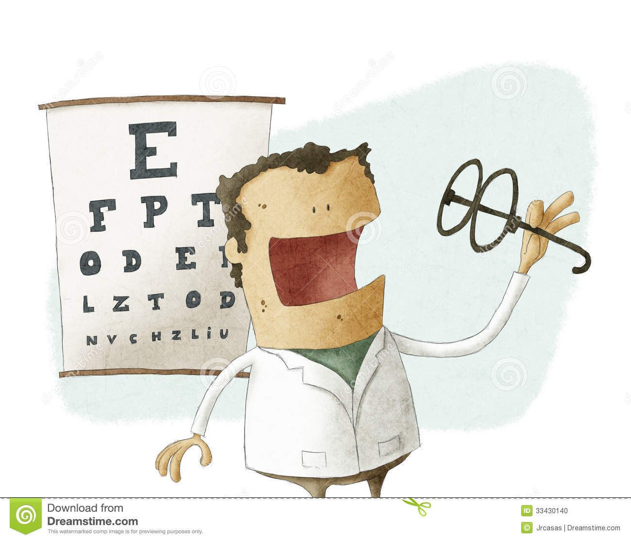 Ophthalmologist Stock Illustrations.