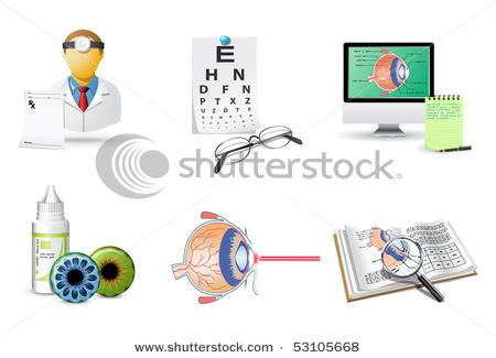 Ophthalmology Clip Art.