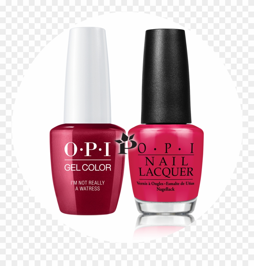Opi Nail Polish With Clear Background.