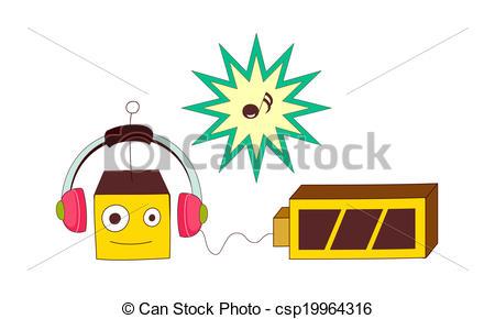 Clipart van batterij, Opladen.