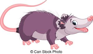 Opossum Clipart and Stock Illustrations. 146 Opossum vector EPS.
