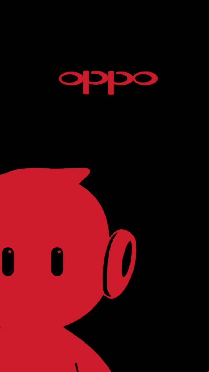Oppo logo red zone wallpaper by lovedesh12345.