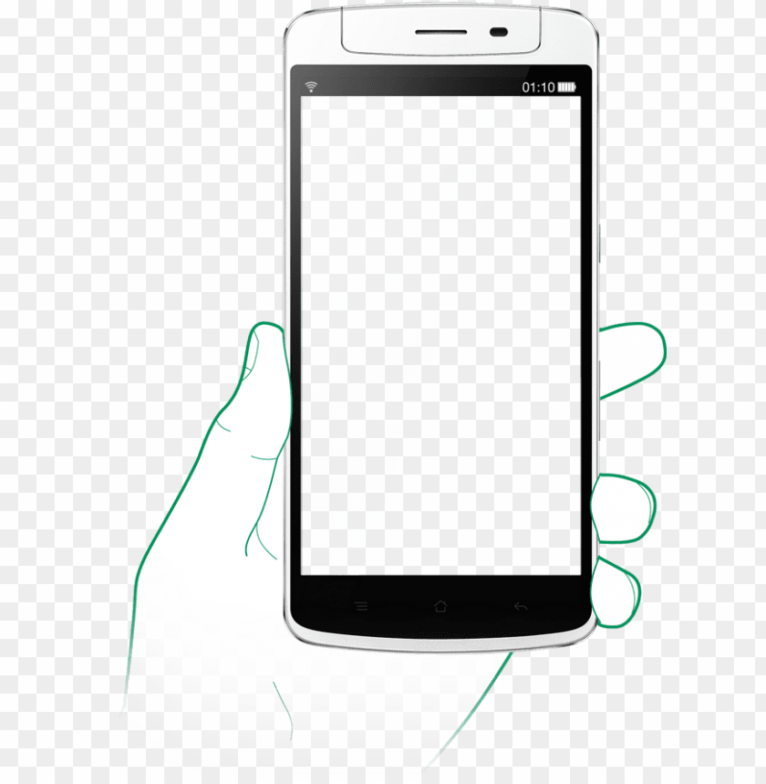oppo mobile frame PNG image with transparent background.