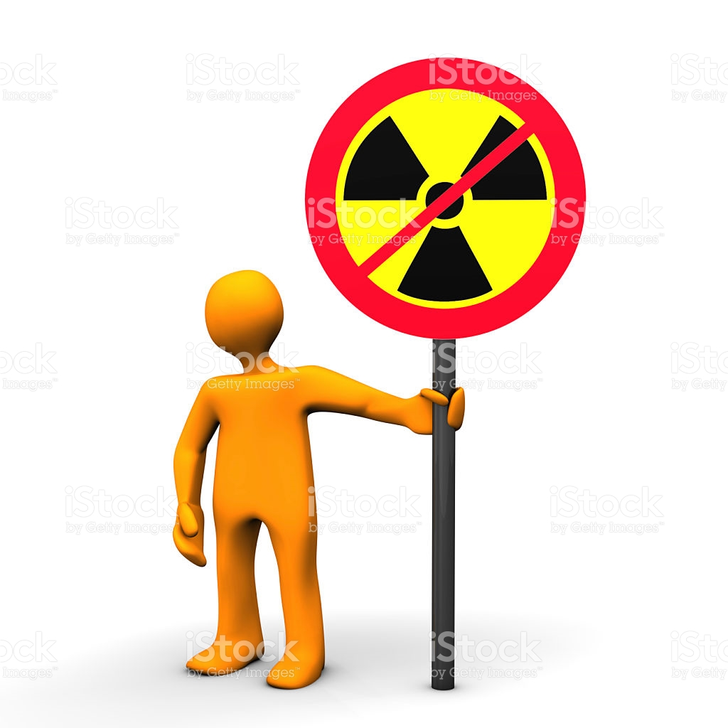 Opponent Of Nuclear Power stock vector art 522734833.
