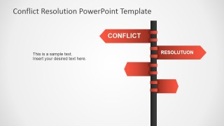 Conflict Resolution PowerPoint Template.