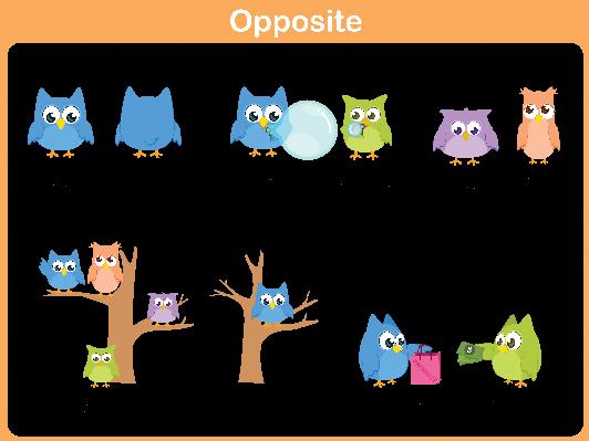 Word for Preschool: Opposite (#2).