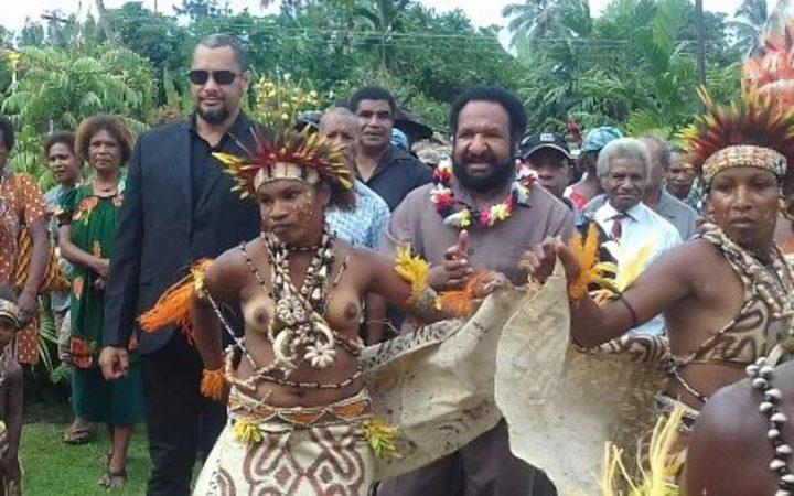 PNG PM in firing line in Popondetta.