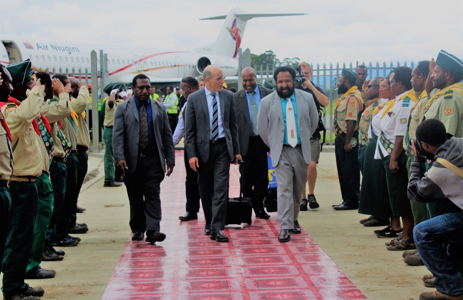 Kaulga\'s Travel Diary: PNG Opposition Government leader.