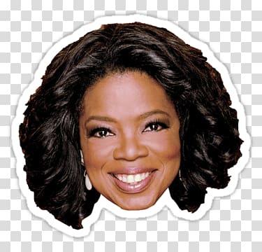 Oprah Winfrey smiling , Oprah Winfrey Sticker transparent.
