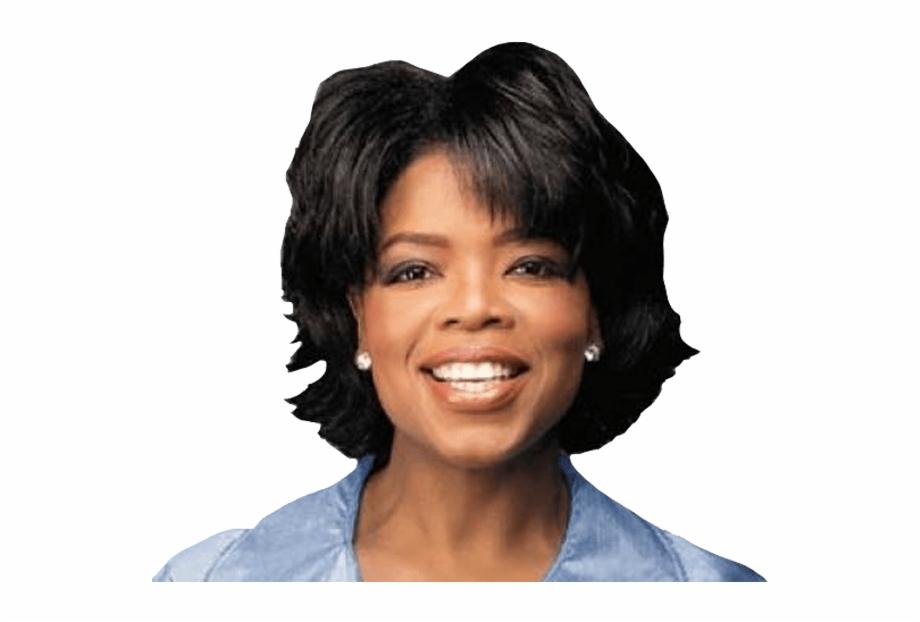 Oprah Winfrey Smiling.