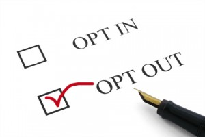 How to Opt Out of Pre.