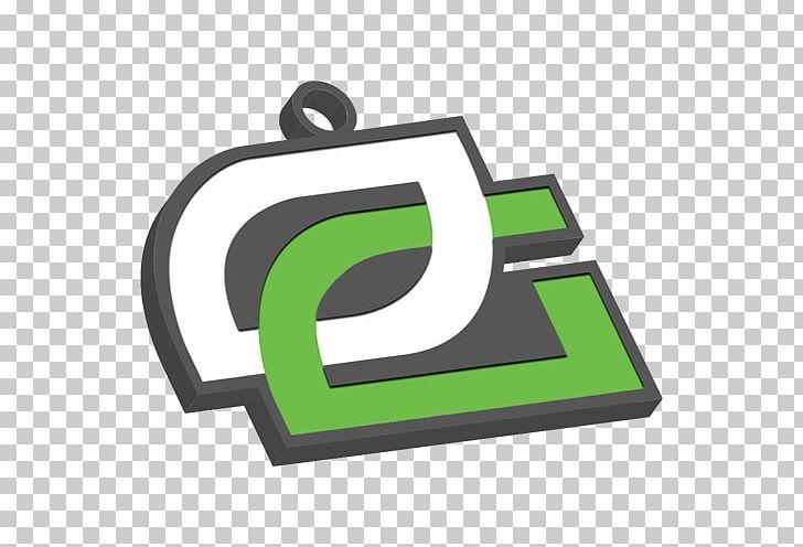 Logo OpTic Gaming ESL One Cologne 2016 Sticker Key Chains.