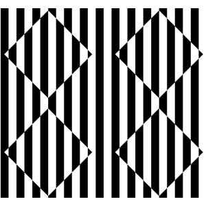 Optical illusions clipart.